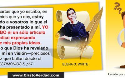 NO CREO en Elena White